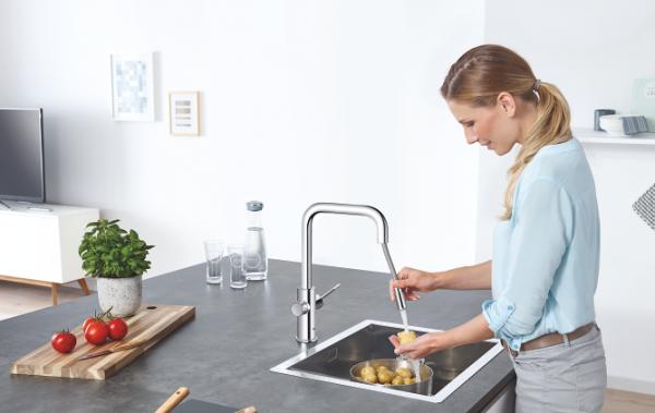 キッチンインテリアを魅力的にする、多機能なキッチン蛇口 その選び方とは?【後編】